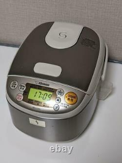 ZOJIRUSHI rice cooker NS-LLH05-XA cooked 0.54L 3 Cups Steamer Warmer 220V USED