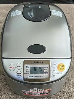 Zojirushi 10 Cup Rice Cooker Open Box Uncooked Ns-tsc-18