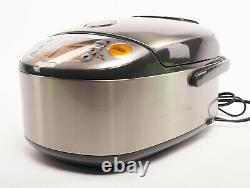 Zojirushi 10 Cup Rice Cooker and Warmer Induction Heating SystemDark Gray