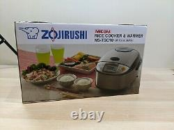 Zojirushi 5-1/2-Cup (Uncooked) Micom Rice Cooker and Warmer NS-TSC10 NEW