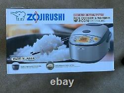 Zojirushi 5.5-Cup Heating System 5.5-Cup Rice Cooker & Warmer NEW IN BOX
