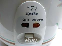 Zojirushi Electric Automatic Japanese Rice Cooker Pot Pan Warmer Steamer 10-Cup