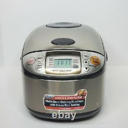 Zojirushi Electric Micom Rice Cooker and Warmer Model NS-TSC10 5.5 Cups Tested
