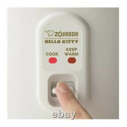 Zojirushi Hello Kitty 5.5 Cup Automatic Rice Cooker and Warmer White