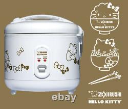 Zojirushi Hello Kitty NS-RPC10KTWA Automatic Rice Cooker & Warmer 5.5-Cup