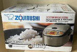 Zojirushi Induction Heating System Rice Cooker & Warmer NP-HCC10, 5.5 Cups