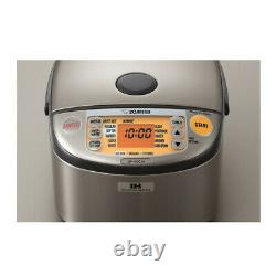 Zojirushi Induction Heating System Rice Cooker and Warmer (10-Cup/ Dark Gray)