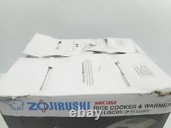 Zojirushi Micom 3-Cup Rice Cooker & Warmer (NS-LGC05)