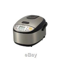 Zojirushi Micom 3-Cup Rice Cooker & Warmer Stainless Black