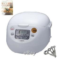 Zojirushi Micom Rice Cooker and Warmer (5.5-Cup) with Accessory Bundle