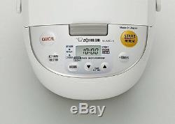 Zojirushi NL-AAC18 Micom Rice Cooker (Uncooked) & Warmer, 10 Cups FREE GIFT