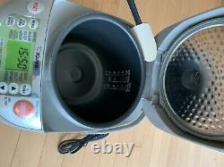 Zojirushi NP-HBC18 10 cup rice cooker with Induction Heating excellent condition