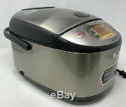 Zojirushi NP-HCC18 10-Cup Induction Heating System Rice Cooker Warmer