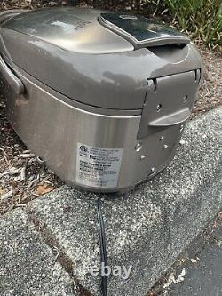 Zojirushi NP-HTC18 Rice Cooker & Warmer, 10-cup, Pressure IH