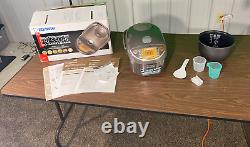 Zojirushi NP-NVC10 1240W 5-Cups Electric Kitchen Rice Cooker with Warmer Brown