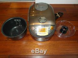 Zojirushi NP-NVC10 1240W 5 Cups Electric Rice Cooker MADE IN JAPAN
