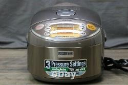 Zojirushi NP-NVC10 Induction Heating Pressure Cooker & Warmer, 5.5 CUP