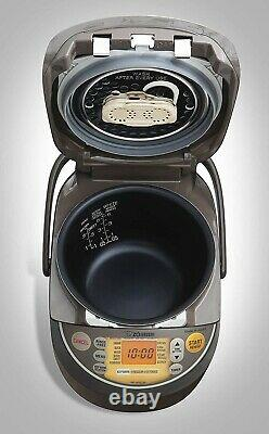 Zojirushi NP-NVC10 Induction Heating Pressure Cooker and Warmer, 5.5 Cup
