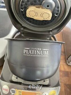Zojirushi NP-NVC10 Pressure Induction Rice Cooker USED See Description Dent