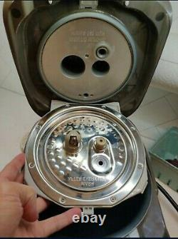 Zojirushi NP-NVC10 Rice Cooker PERFECT USED, with box & accessories silver