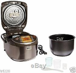 Zojirushi NP-NVC18 Induction Heating Pressure Cooker & Warmer, 10 CUP JAPAN