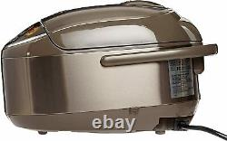Zojirushi NP-NVC18 Induction Heating Pressure Cooker and Warmer, 10 Cups, Japan