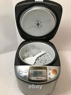 Zojirushi NSTSC18 10 Cups Micom Rice Cooker & Warmer NEW NS-TSC18 Opened Box