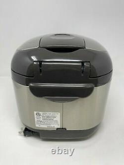 Zojirushi NSTSC18 10 Cups Micom Rice Cooker & Warmer with Steamer