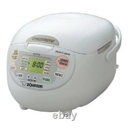 Zojirushi NSZCC18 Neuro Fuzzy Rice Cooker and Warmer (10-Cup/ Premium White)