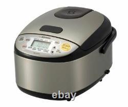 Zojirushi NS-LGC05 Micom Rice Cooker and Warmer, 3 cup, Silver/Black