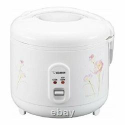 Zojirushi NS-RPC10FJ 5.5 Cup (Uncooked) Automatic Rice Cooker & Warmer, Tulip
