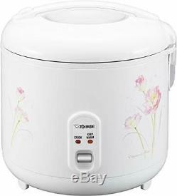 Zojirushi NS-RPC18FJ Rice Cooker and Warmer, 1.8-Liter, Tulip NEW 10 CUP