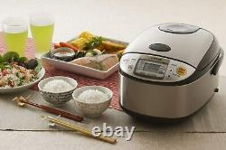Zojirushi NS-TSC10 5-1/2-Cup Micom Rice Cooker and Warmer, 1.0-Liter Brown