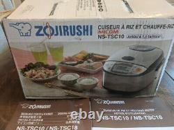 Zojirushi NS-TSC10 5-1/2-Cup Micom Rice Cooker and Warmer, 5 CUP