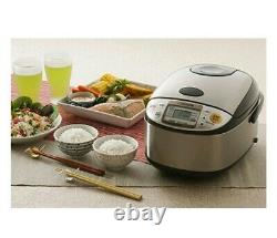 Zojirushi NS-TSC10 5-1/2-Cup Uncooked Micom Rice Cooker and Warmer
