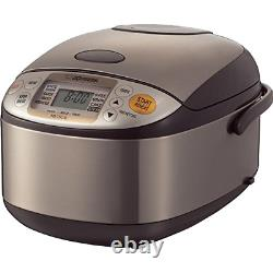 Zojirushi NS-TSC10 5-1/2-Cup Uncooked Micom Rice Cooker and Warmer, 1.0-Liter