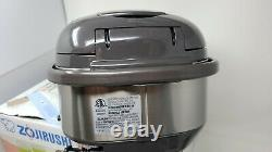 Zojirushi NS-TSC10 5-1/2-Cup Uncooked Micom Rice Cooker w Warmer 1.0-Liter
