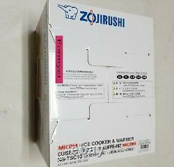 Zojirushi NS-TSC10 5.5 Cup(Uncooked)Micom Rice Cooker and Warmer Brand New