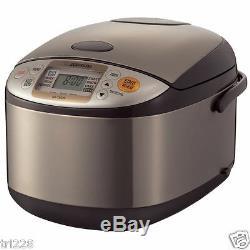 Zojirushi NS-TSC10 5 Cups Micom Rice Cooker & Warmer FREE GIFT & DOUBLE BOXED