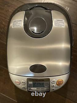 Zojirushi NS-TSC18 Computerized Micom Rice Cooker Warmer 10 Cups Capacity