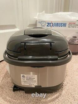 Zojirushi NS-TSC18 Micom Rice Cooker and Warmer, 10-Cups