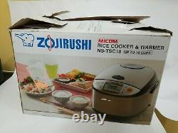 Zojirushi NS-TSC18 Up To 10 Cups Micom Rice Cooker and Warmer