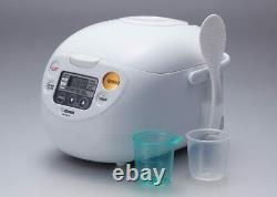 Zojirushi NS-WAC10-WD 5.5-Cup (Uncooked) Micom Rice Cooker and Warmer, Brand New