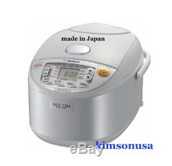 Zojirushi NS-YAC10 Umami Micom Rice Cooker and Warmer, Pearl White, 5.5 Cup