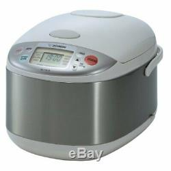 Zojirushi NS-YAC18 Umami Micom 10-Cup Rice Cooker and Warmer (Pearl White)