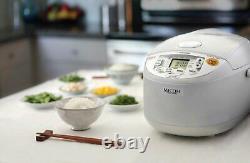 Zojirushi NS-YAC18 Umami Micom 10-Cup Rice Cooker and Warmer (Pearl White)