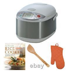 Zojirushi NS-YAC18 Umami Micom 10-Cup (Uncooked) Rice Cooker/Warmer Bundle