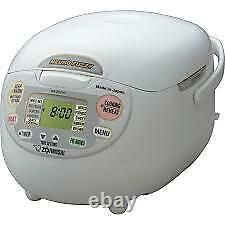 Zojirushi NS-ZCC10 5-1/2-Cup Neuro Fuzzy Rice Cooker and Warmer, 1.0-Liter