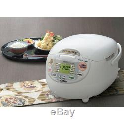 Zojirushi NS-ZCC10 5 Cup Neuro Fuzzy Rice Cooker and Warmer Brand New