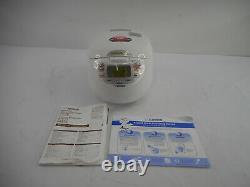 Zojirushi NS-ZCC18 Neuro Fuzzy Rice Cooker & Warmer, 10 Cup, Premium White